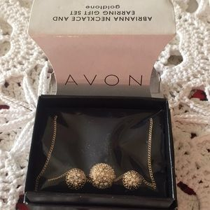 Avon 2012 Abrianna Necklace & Earrings New
